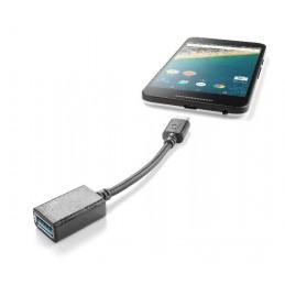 ADATTATORE DA USB-A  A USB-C NERO