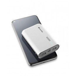CARICABATTERIA EMER 10000 USB-C BIANCO