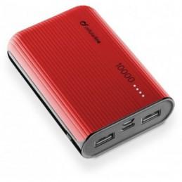 CARICABATTERIA EMER.10000 USB-C ROSSA