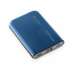 CARICABATTERIA EMER.5000 USB-C BLU