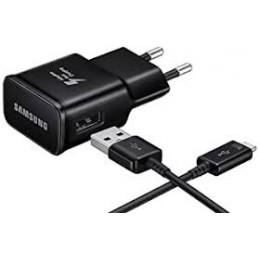 CARICABATTERIE DA RETE ETAU90 CON CAVO USB-C NERO IN CONFEZIONE BULK