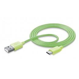 CAVO DATI USB TYPE-C VERDE