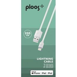 CAVO USB 2M LIGHTNING BIANCO