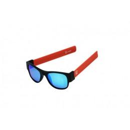 CLACK  BLACK/ORANGE POLARIZED BLUE MIRROR LENSCAT3 UV400 Polarizzate antiriflesso effetto specchio Protezione raggi UV-A e UV-B