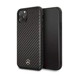 COVER CARBONIO IPHONE 11 PRO MERCEDES BENZ NERA