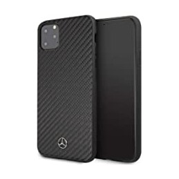 COVER CARBONIO MERCEDES BENZ IPHONE 11 PRO MAX  NERA