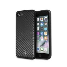 COVER CARBONIO MERCEDES BENZ IPHONE 7/8/9 SE 2020 NERA