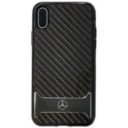 COVER CARBONIO MERCEDES BENZ IPHONE X XS NERA
