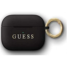 COVER GUESS AIRPODS SILICONE BLACK