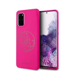 COVER GUESS SILICONE SOFT TOUCH GALAXY S20 FUCSIA
