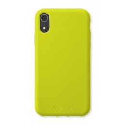 CUSTODIA SOFT TOUCH IPHONE XR LIME FLUO