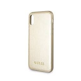 HARD CASE IRIDISCENT GUESS COLLECTION IPHONE X GOLD