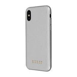 HARD CASE IRIDISCENT GUESS COLLECTION IPHONE X SILVER