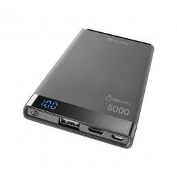 POWERBANK CARICABATTERIA EMER. 5000  USB-C NERO