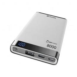 POWERBANK CARICABATTERIA EMER. 8000  USB-C BIANCO