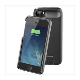 POWERBANK COVER BATTERIA PER IPHONE 5 NERA