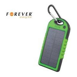 POWERBANK RICARICA AD ENERGIA SOLARE 5000 mAh GREEN