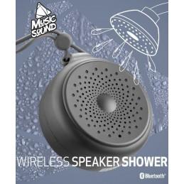 SPEAKER BLUETOOTH SHOWER IPX4  NERO