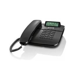 TELEFONO A FILO GIGASET DA611 NERO