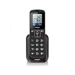 TELEFONO CELLULARE AMICO HOME NERO BRONDI