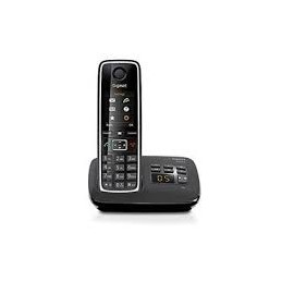 TELEFONO CORDLESS GIGASET CO SEGRETERIA C530 A BLACK