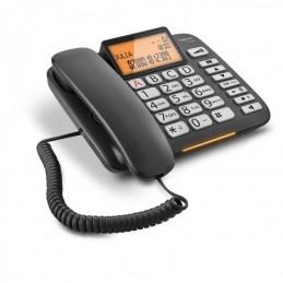 TELEFONO FISSO GIGASET DL580 NERO