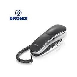 TELEFONO FISSO GONDOLA BRONDI KENOBY GRIGIO e BIANCO