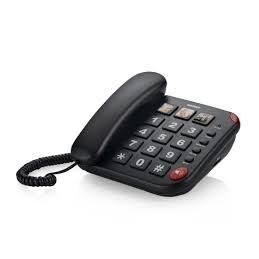 TELEFONO FISSO BRONDI BRAVO 15 NERO