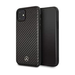 COVER CARBONIO MERCEDES BENZ IPHONE 11 NERA
