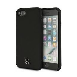 COVER SILICONE MERCEDES BENZ IPHONE SE 8 7 BLACK