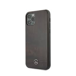COVER LEGNO MERCEDES BENZ IPHONE 11 PRO MAX NERA