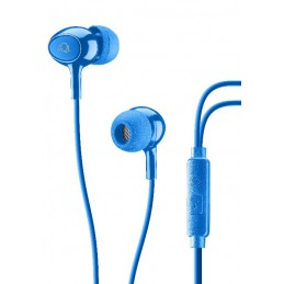 AURICOLARE IN-EAR ACOUSTIC BLU
