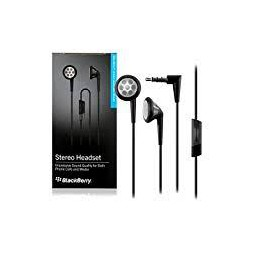 AURICOLARE STEREO BLACK BERRY 3,5mm