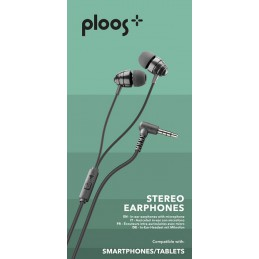 AURICOLARI IN-EAR CON MIC UNIV. NERO