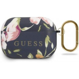 COVER GUESS AIRPODS PRO SILICONE BLU