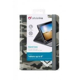 CUSTODIA A LIBRO PER TABLET 8 ARMY
