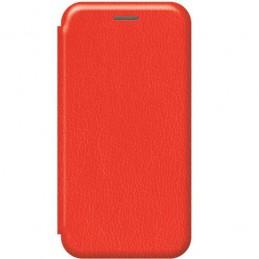 CUSTODIA BOOK SOFT TOUCH  STAND CON PORTA CARTE PER HUAWEI P SMART 2020  RED