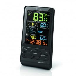 stazione meteo con display colorato  temperatura IN/OUT umidità IN/OUT