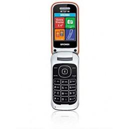 TELEFONO CELLULARE BRONDI STONE ARANCIO