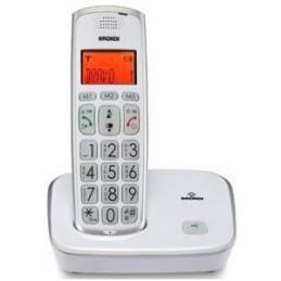 TELEFONO CORDLESS BRONDI BRAVO GOLD 2 BIANCO