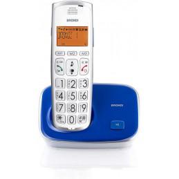 TELEFONO CORDLESS BRONDI BRAVO GOLD 2 BLU VIOLA