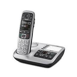 TELEFONO CORDLESS GIGASET CON SEGRETERIA E 4 TASTI DI CHIAMATA RAPIDA D\'EMERGENZA