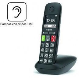 TELEFONO CORDLESS GIGASET E290 NERO