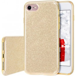 COVER GLITTER IPHONE 8 GOLD