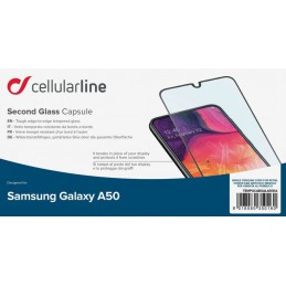 KIT 5 VETRI ANTIURTO GALAXY A50 NERO