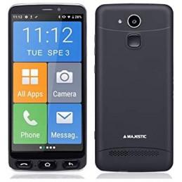 SMARTPHONE SENIOR MAJESTIC JOEDISPLAY 5,5 2GB RAM ICONE GRANDI E TASTO SOS ANDROID