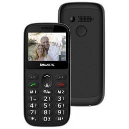 TELEFONO SENIOR GSM EXTRA SLIM SOS CON DISPLAY 2,31 FOTOCAMERA TORCIA LED BASE RICARICA