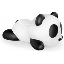 Speaker Bluetooth Luminoso, panda, Bluetooth Version V3.0 - IPX6  Aux In con batteria ricaricabile Lithium altezza 23 cm