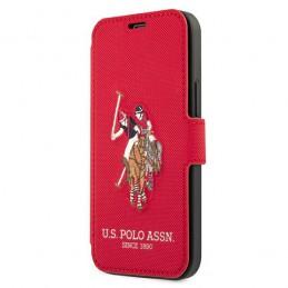 BOOK U.S. POLO IPHONE 12 PRO MAX ROSSA