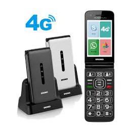 TELEFONO GSM 4G FLIP CON ANDROID 8.1, WHATSAPPMEMORIA ESPANDIBILEBLUETOOTH